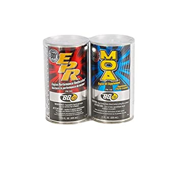 Bg Products MOA & EPR Motor Oil Additive Lubrication Supplement Engine Restore