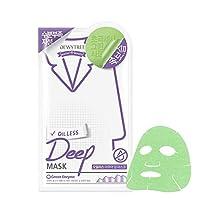 (デューイトゥリー) DEWYTREE オイルレスアクアディープマスク 10枚 Oilless Aqua Dip Mask 韓国マスクパック (並行輸入品)