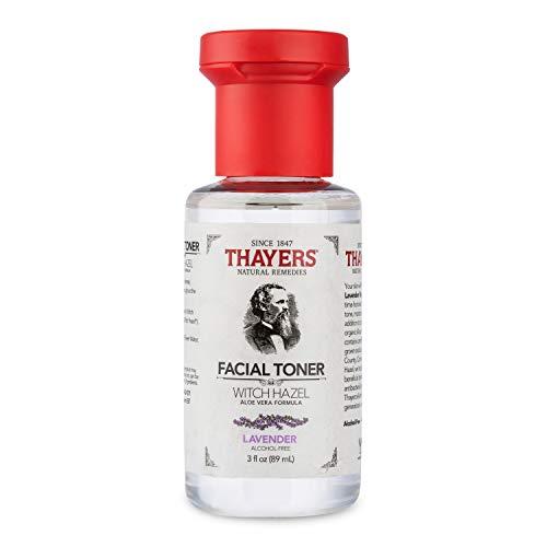 THAYERS Trial Size Alcohol-Free Witch Hazel Facial Toner with Aloe Vera Formula, Lavender, 3 Fl Oz