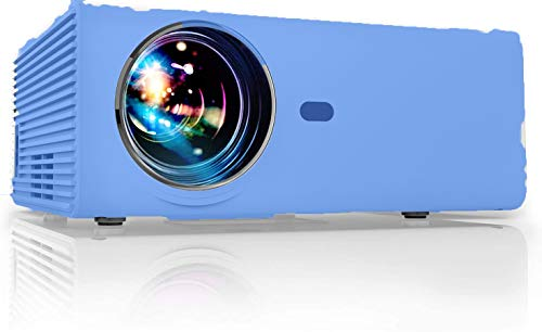 Proiettore Portatile per smartphone Mini Videoproiettore Full HD 5500 Lumen 1080P Compatibile Android Tv Usb Hdmi Laptop