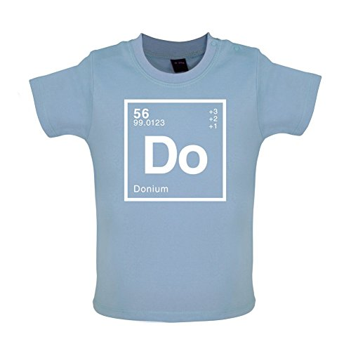 DON - Periodic Element - Baby / Toddler T-Shirt - Dusty Blue - 6-12 Months