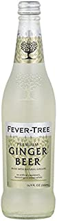 Fever-Tree Premium Ginger Beer, 16.9 Fl Oz Glass Bottle (8Count)