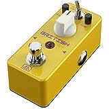 Pedal efecto distorsión BRITISH APN-5 Clásico estilo británico Recreación del tono amplificador (Oro)