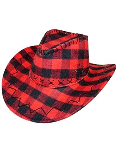 Armardi d Chapeau de cowboy Tartan