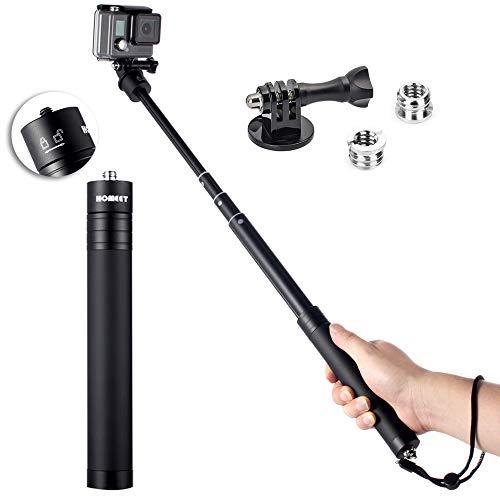 Bastone Selfie per Gopro, Homeet 19-73cm Monopiede...