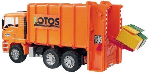 bruder 2762 - Camión de Basura Man (Incluye 2...