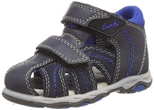Lurchi Baby-Jungen John Sneaker, Blau (Navy 22), EU