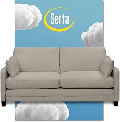 Best Serta Carmina Contemporary Upholstered 75