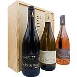Coffret Vin Cadeau | Dégustation Vin Languedoc | Domaine De Bellefontaine | Caisse 3 Bouteilles | Bouteille Vin Rouge Blanc Rosé | Offrir Coffret Vin | Vin Rouge Grand Cru | 2018
