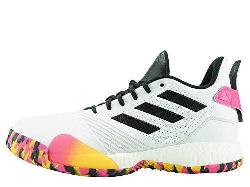 adidas Hombre TMAC Millennium Zapatos de Balonmano Blanco, 46 2/3