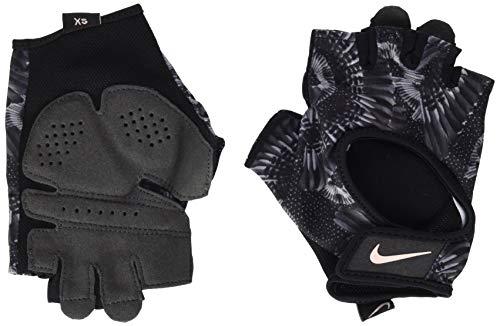 Nike Damen Womens Printed Gym Ultimate Fitness Gloves 947 Handschuhe, Black/Anthracite/Stor, L