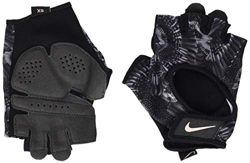 Nike Damen Womens Printed Gym Ultimate Fitness Gloves 947 Handschuhe, Black/Anthracite/Stor, M