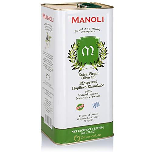 Manoli natives Olivenöl extra Kanister 5L Griechenland
