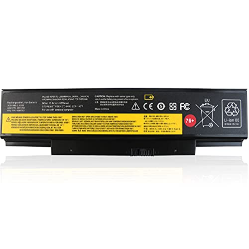 Shareway 76+ Laptop Battery Comaptible with ThinkPad E550 E550C E555 E560 E565 45N1762 45N1763 45N1758 45N1759 4X50G59217 45N15E9