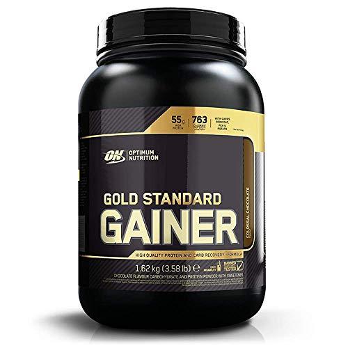 Optimum Nutrition Gold Standard Gainer, Mass Gainer pour Prise de Masse et Récupération, Saveur Chocolat, 8 Portions, 1,62 kg