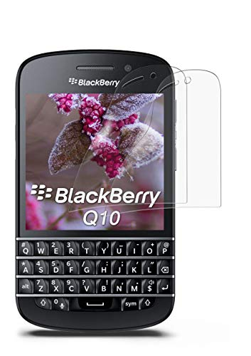 MoEx® Matte Anti Reflex Bildschirmschutzfolie passend für BlackBerry Q10   Gegen Reflexionen und Fett-Finger - Entspiegelt