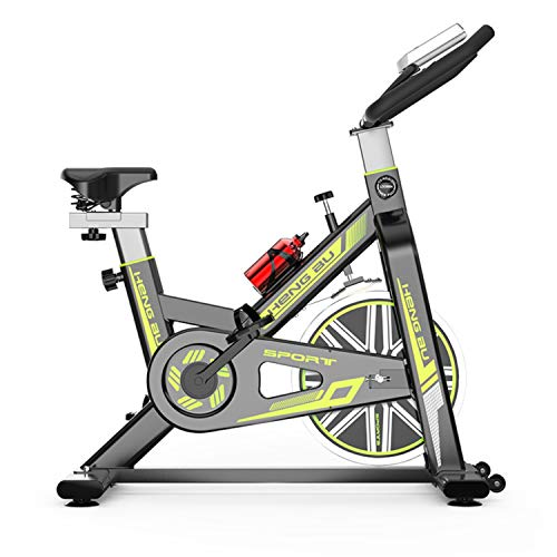 For Sale! Exercise Cycling Bike,Indoor Fitness Bike,Adjustable Professional Exercise Bike with LCD D...