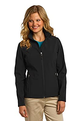 Port Authority Ladies Core Soft Shell Jacket, Black, Small by