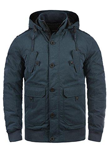 !Solid Davio Herren Übergangsjacke Herrenjacke Jacke mit Kapuze, Größe:XXL, Farbe:Insignia Blue (1991)