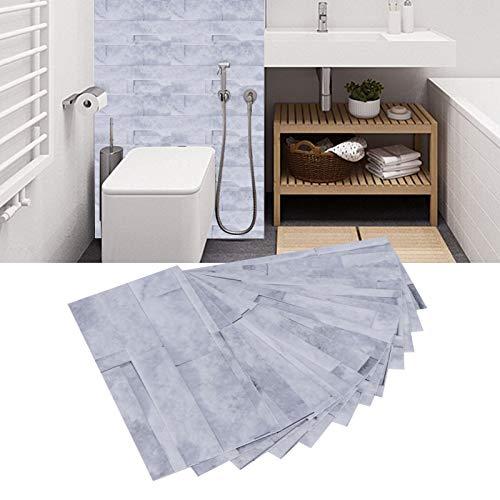 SALALIS Adhesivo de Pared, no es fácil de decolorar Adhesivos para Azulejos Superficie Lisa para Pared y azulejo para inquilinos(KIT039)