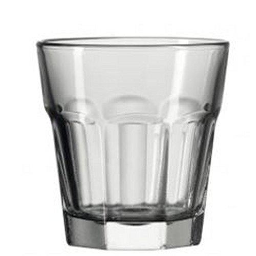 Leonardo 51164 Whisky Gobelet/Verre à Eau/jus Verre – Rock – Gris