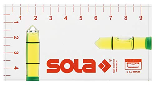 Sola 01616142 Klein R 102 Kleinwasserwaage Wasserwaage 9,5 cm (95 mm)