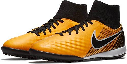 Nike Jr Magistax Onda II DF TF–Scarpe da Calcetto, Unisex Bambini, Bambino, JR Magistax Onda II DF TF, Arancione, 36
