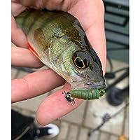 超大陸5センチ/ 35ピースの釣りのルアーズソフト人工エースの捕食者タックルポラリス沈んでレビューペスカ安い釣りタックル (Grootte : 50mm 35pcs, Kleur : C)