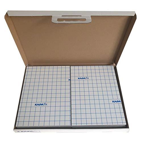pappenwelt.de KAPA fix 1-seitig selbstklebend 5 mm DIN A4 12 Platten (1 Box)