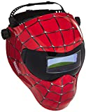 Save Phace Auto Darkening Welding Helmet Spiderman Gen Y - Ear to Ear vision Welder Hood with 2nd Largest Viewing Mask for SMAC/MIG/TIG/SPOT - 2 ARC Sensors Solar Powered and Grind Mode (3012336)