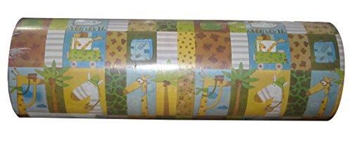 Woerner Geschenkpapier Safari Rolle 250m x 50cm