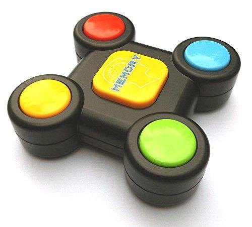 Brigamo Memory Buzzer mit Licht & Sound, Memory Lernspielzeug für Kleinkinder, Motorik Spielzeug