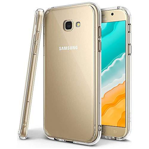 Bodyguard Hülle Kompatibel mit Samsung Galaxy A3 2017, Hohe Qualitä Ultra Slim Silikonhülle, Weiche Silikon TPU Durchsichtig Schutzhülle, Kratzfest Crystal Clear Handyhülle (Transparent)
