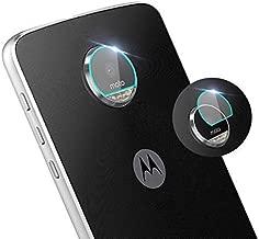 for Motorola Moto Z3 Play Back Camera Lens Screen Protector Tempered Glass,[2PAK] Camera Shot Protective Film for Motorola Z3 Play