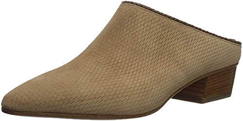 Aquatalia Women's FIFE Perforated Suede Mule, Sand, 5 M M US