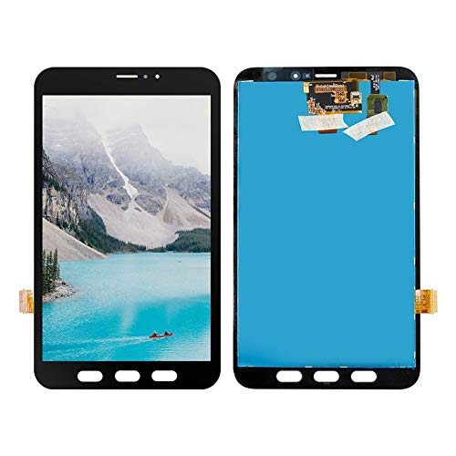 Screen Replacement kit 8.0' LCD Fit for Samsung Galaxy Tab Active 2 T395 SM-T395 SM-T395C LCD Display Touch Screen Digitizer Glass Assembly + Free Tools Repair kit Replacement Screen (Color : Black)