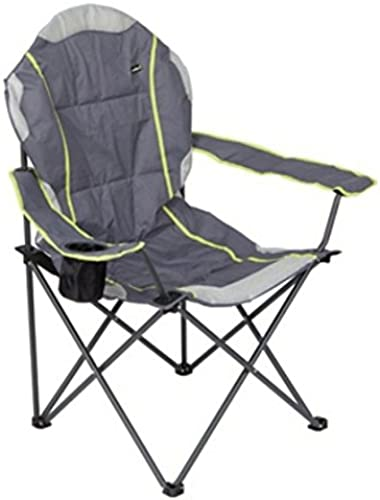Summit Klappstuhl Flex Cushioned Relax 106 x 100 x 60 cm grau