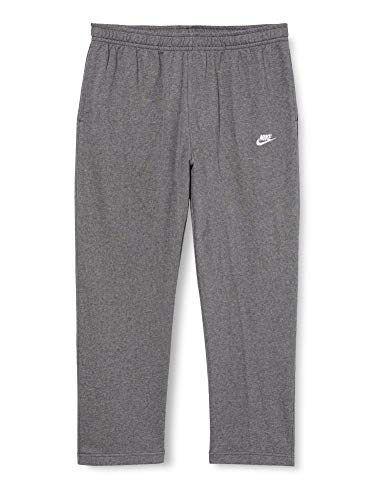 Nike M NSW Club Pant Oh ft Sport Trousers Charcoal HeathrAnthraciteWhite Small