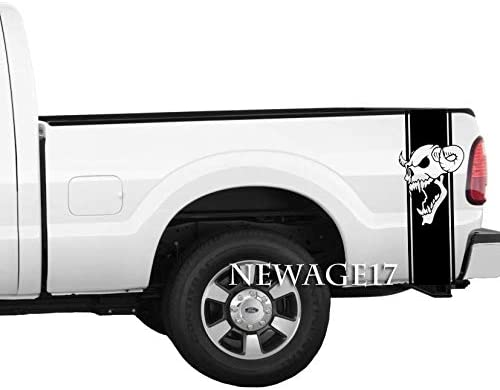 "Evil Horned Skull Decal Sticker JDM Funny Vinyl Car Window Bumper Truck Wall 7/"""