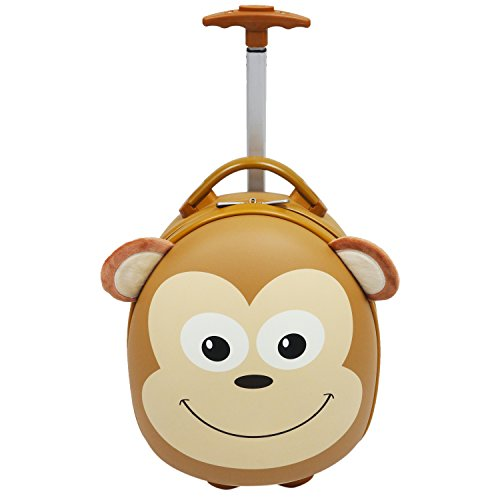 Emmzoe Animal Trolley Hardshell Luggage
