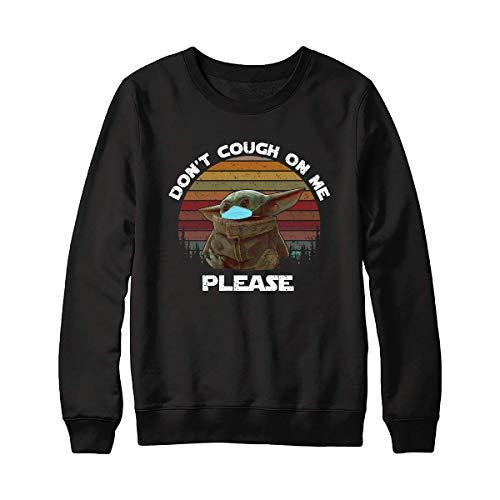 Baby Yôdás Don'T Cough On Me Please Vintage Shirt – Baaby Yôdás In Córónávírús Pandemic Yôdás Best Tee – Strong America Yôdás Stár Wárs Córónávírús Shirt For Men Women Handmade Shirt Unisex