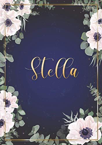 Stella: Cuaderno de notas A5 | Nombre...