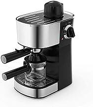 Koffiemachine Espressomachine voor thuis-espresso, 5 bar en eenkops koffiezetapparaat, halfautomatische stoom en