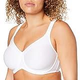Triumph Damen Modern Soft+Cotton W01 Minimizer BH, Weiß (White 0003), (Herstellergröße: 85D)