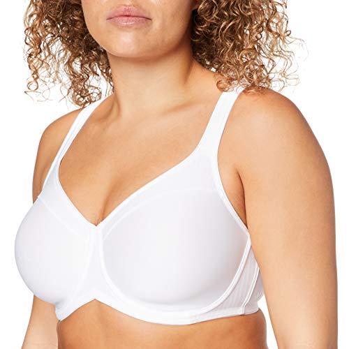 Triumph Damen Modern Soft+Cotton W01 Minimizer BH, Weiß (White 0003), (Herstellergröße: 95E)