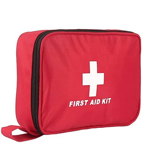 Kit di Primo Soccorso 180 Pezzi, Kit di Pronto Soccorso Compatto Professionale, Coperte di Emergenza, Maschera CPR impermeabile per Casa, Auto, Campeggio, Escursionismo, Ufficio, Barca, Viaggio