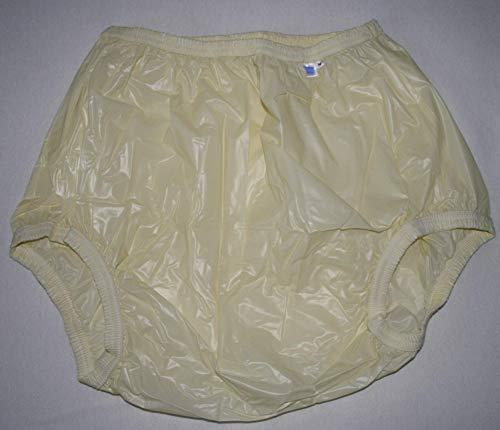 Top PVC Adult Baby Inkontinenz Windelhose Gummihose zitrone gary (XL)