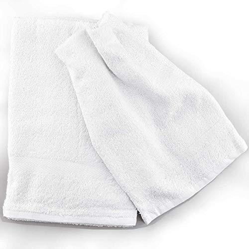 Toallas blancas Tintaunita Cristina – Blanco, cara + invitados
