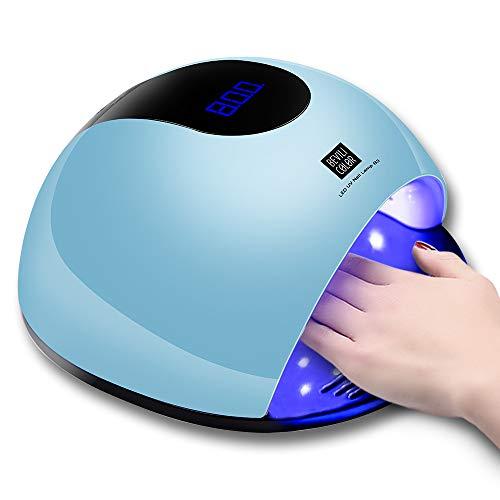 Healthy Care UV Nail Lamp 80W LED Nail Dryer Lamp for Gel Nail Polish,...
