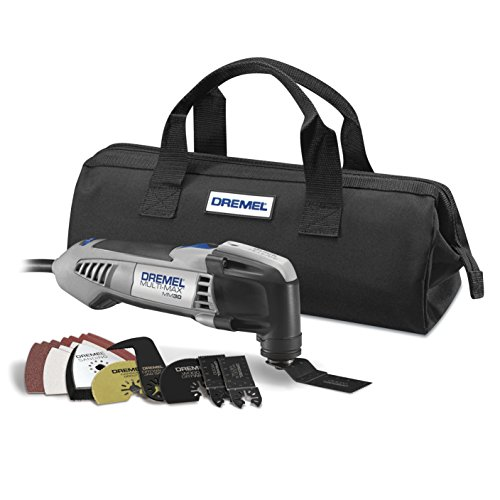 Dremel MM30-04 Multi-Max 3.3-Amp Oscillating Tool Kit with Integrated Quick-Release...